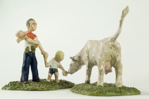 PETTING ZOO, Bram Verstraeten, clay.
